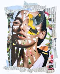Mixed Media Design Mixed Media Collages Veerle Symoens