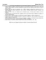 Equipment Operator Resumes Barca Fontanacountryinn Com