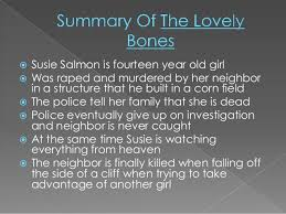 lovely bones essay the lovely bonesquot by alice sebold personal  the lovely bones essay thesis phd dissertation presentation the lovely bones essay thesis