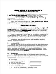 Sample Business Purchase Agreement Agreement Sample Small Businessse Asset Sale California Pictures HD 22