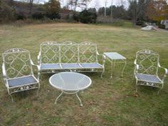 Contemporary Antique Iron Patio Furniture Find This Pin And More On Vintage Wrought Intended Creativity Ideas