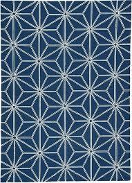 navy outdoor rug solid blue indoor