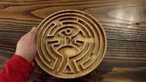 Wooden Maze Game With Ball Bearing Be Seduced by this Western Wooden Marble Maze by Todd Blatt 99
