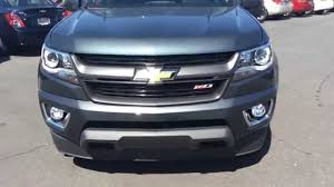 2015 Chevrolet Colorado Crew Cab Z71 Grey, Burns Chevrolet ...