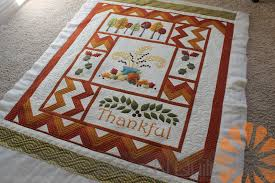 Piece N Quilt: Thankful - A Fall Quilt - Custom Machine Quilting ... & This quilt is an adorable throw-size quilt. I had so much fun custom  machine quilting it. As soon as I saw those big solid borders I just knew  that I had ... Adamdwight.com