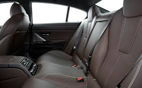 2016 bmw m6 gran coupe rear interior seats