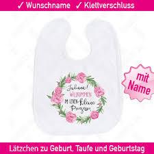 Herzlich Willkommen Baby Lätzchen Geschenk Idee Geburt Taufe