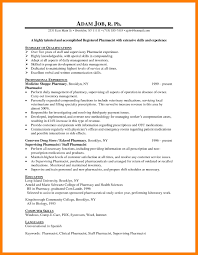 9 Pharmacist Cv Example Mla Cover Page How To Write A Hospital