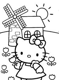 Fun hello kitty coloring book and girls dresses and accessories.subscribe for more! Hello Kitty Coloring Page Hello Kitty Coloring Page All Kids Network