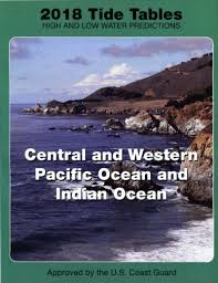 Bluewater Books Charts Tide Tables Central W Pacific