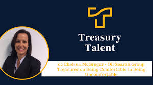Chelsea McGregor - Oil Search Group Treasurer on Being Comfortable ...