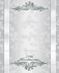 free templates for 25th wedding anniversary invitations free silver wedding anniversary invitations