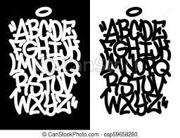 Graffiti Font Free Handwritten Graffiti Font Alphabet