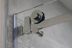 quadro sliding shower door hardware