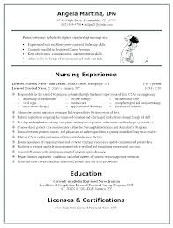 Graduate Nurse Resume Example – Administrativelawjudge.info