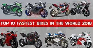 10 fastest bikes in the world 2020