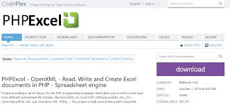 Phpexcel Chart Documentation My Life With Php Keep Learning Technology