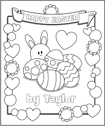 Small Picture Easter Coloring Page Photo Gallery Website Personalized Coloring
