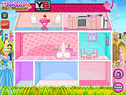 play princess pets doll house game online y8 com