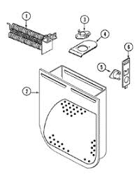 parts for crosley cdew dryer com 05 heater parts for crosley dryer cde6000w from com