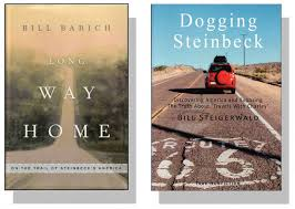 shades of truth in steinbeck s travels charley steinbeck now long way home and dogging steinbeck covers two books about travels charley