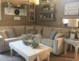 chic cozy living room furniture. Chic And Laid-back Is What Living Room All About. The Salonne Sectional Helps To Make This A Natural Rustic Farmhouse Dream. Cozy Furniture