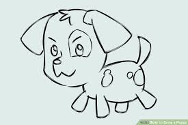 puppy drawing step by step. Simple Step Image Titled Draw A Puppy Step 7 Inside Drawing By U