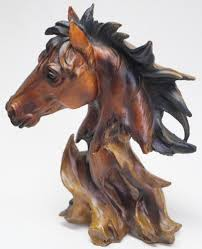 statuette horse head statuette horse head
