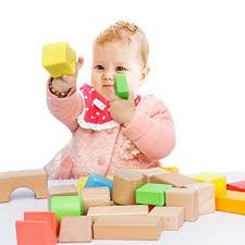 Wooden Bricks Game Lewo Large Wooden Blocks Construction Building Toys Stacking 75