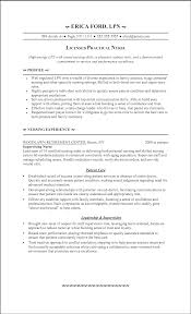 Cover Letter Licensed Practical Nurse Resume Examples Resume