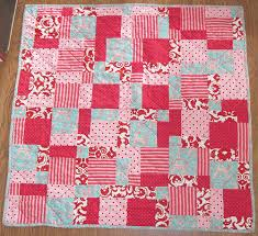 Disappearing Nine Patch Baby Quilt » Carrie's Quilting Mania & Baby Quilt Adamdwight.com