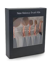 5pcs makeup brush set blush brush eyeshadow brush eyeliner brush concealer brush foundation brush synthetic hair