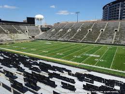 Kinnick Stadium View From Sideline 124 Vivid Seats