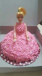 Pink Princess Cake 4 Years Old Rakshayaa Chocolate Door Gift
