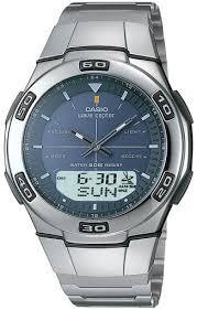 <b>Casio</b> Wave Ceptor <b>WVA</b>-<b>105HDE</b>-<b>2A</b> - купить <b>часы</b> по цене 6990 ...