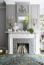 rustic fireplace mantel decorating ideas