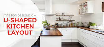 U Shaped Kitchen Layouts Design Tips Inspiration