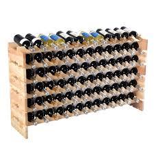 Wine Racks For Cabinets Wooden Bottle Rack Wine Display Shelves For 72 Bottles Wine