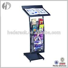 Single Magazine Display Stand Gorgeous Magazine Display Stand In Coffee Shop And Book Shops Buy Magazine