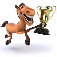 Image result for horse race cartoon
