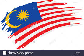 Malaysia Flag Design Vector Malaysia Flag Vector Illustration Stock Vector Art