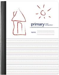 Hand Writing Sheets Handwriting Practice Primary Composition Book Primary Ruled Unruled 80 Sheets