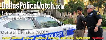 Dallas Police Organizational Chart Dallas Police Watch Active Incidents Being Serviced By The