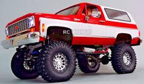 1/10 RC CUSTOM All Metal CHEVY BLAZER K5 RC Truck 2-SPEED 4WD + ...