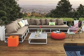 contemporary cb2 patio furniture. Cb2 Outdoor Furniture Wonderful 6 Sectional Sofas For A Contemporary Patio H
