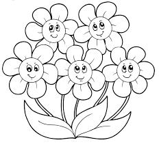 Lusso Disegni Facili Da Colorare Categoria Primavera Migliori