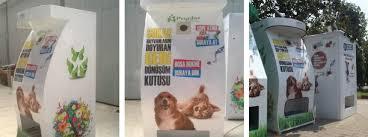 Dog Park Vending Machines Cool Turkish Stray Dog Feeding Machine A Model For Social Design