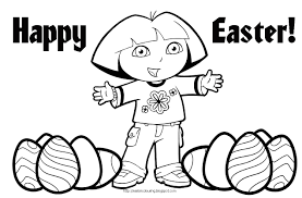 Dora The Explorer Coloring Pages Getcoloringpagescom