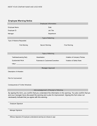 free employee warning forms is employee warning form any good 15 ways you can be certain