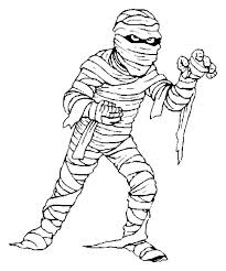 Small Picture Mummy A Mummy Try To Catch You Free Coloring Page Throughout Mummy